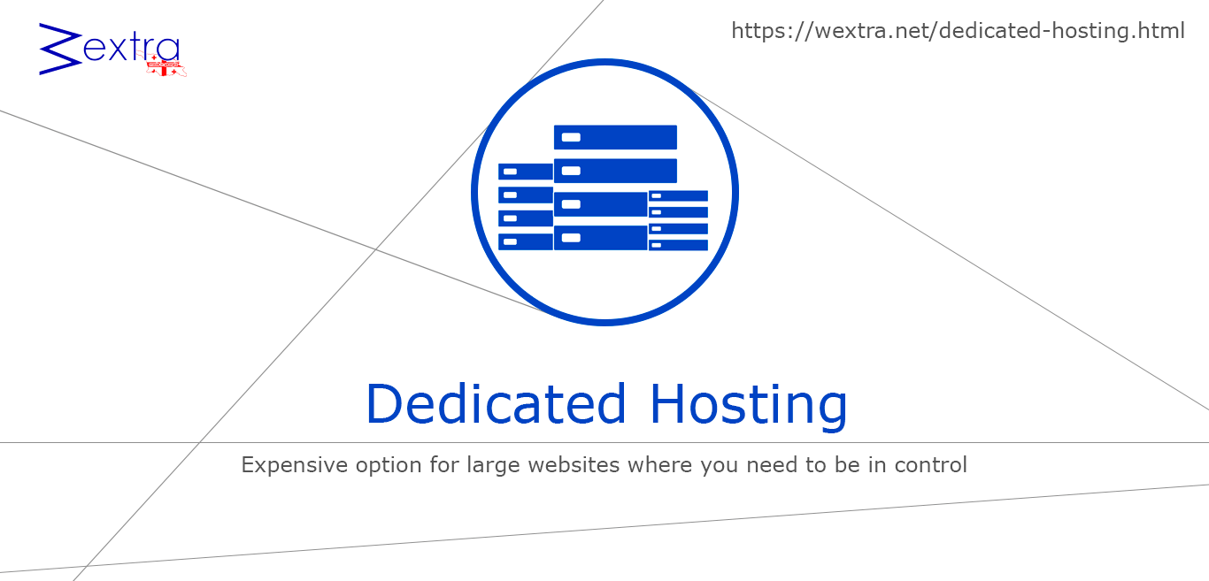 Dedicated Hosting - WExtra.net cheap hosting price finder
