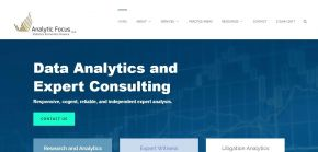 Data Analytics Experts - Analytic Focus