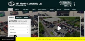 MP Motor Co - Preston Used Cars for Sale