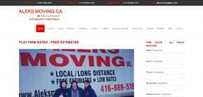Aleks Moving - Ontario Canada Movers
