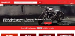 CrashedToys - Salvage Motorcycle Auction - Exotic Cars, Boats, Sports Bikes, ATV