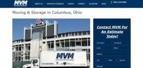 Moving & Storage Services - MVM Moving -Movers Ohio, USA