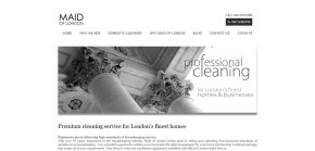 Maid of London office cleaning services