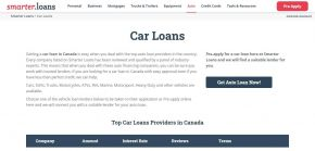 Car Loans Canada: Compare Auto Financing Rates, Apply Online - Smarter Loans