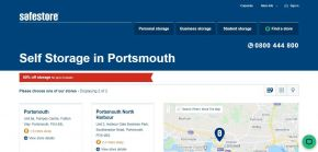 Self Storage Units Portsmouth - Lowest Price Guarantee