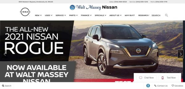 Walt Massey Nissan-New & Used Cars, Spectacular Service In Andalusia, AL