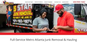 Junk Removal Experts in Alpharetta - 5 Star Junk Removal