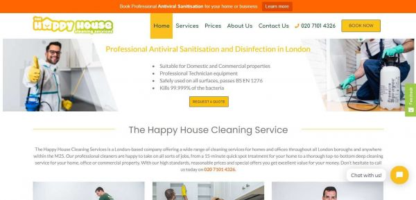 The Happy House Cleaning: Domestic Cleaners - London Cleaning Services