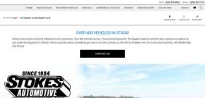 Stokes Automotive in Clanton - Serving Montgomery, Pelham, and Birmingham, AL Buick, Chevrolet, and GMC Customers