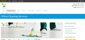 Office Cleaning Services - ISO Accredited - NECS UK