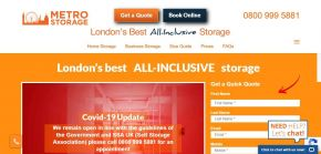 Self-Storage in W2 & N1, Central London - Metro Storage