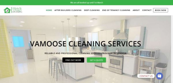 Vamoosecleaningservices.co.uk - Professional Cleaning Services London