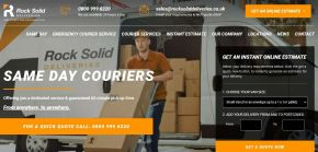 Rocksoliddeliveries.co.uk - Same Day Courier Service & Urgent Delivery Couriers - Rock Solid Deliveries