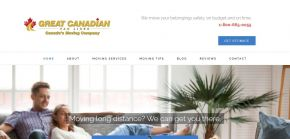 Greatcanadianvanlines.com - Long Distance Movers - Great Canadian Van Lines