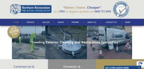 Northernrestoration.co.uk - Exterior Cleaning Specialists - Professional Cleaning Services Leeds, UK