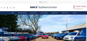 Binca.co.uk - Car Auction In Bletchley, Milton Keynes