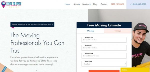 Statetostatemove.com website added
