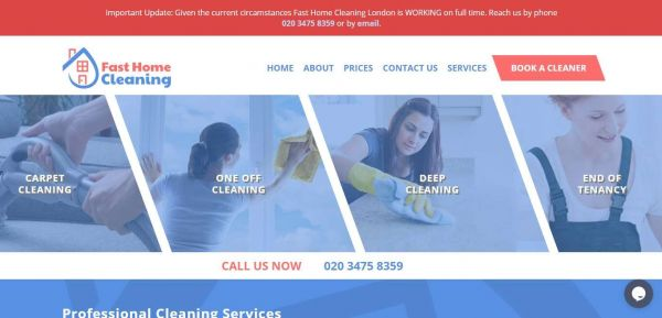 Fasthomecleaning.co.uk - Fast Home Cleaning London - Professional Home Cleaning Services