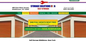 Storage Solutions USA - Middletown NY Storage Units